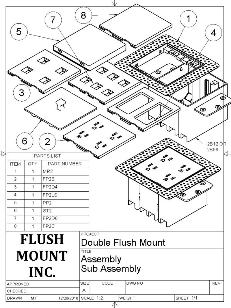 Flush Mount Patent