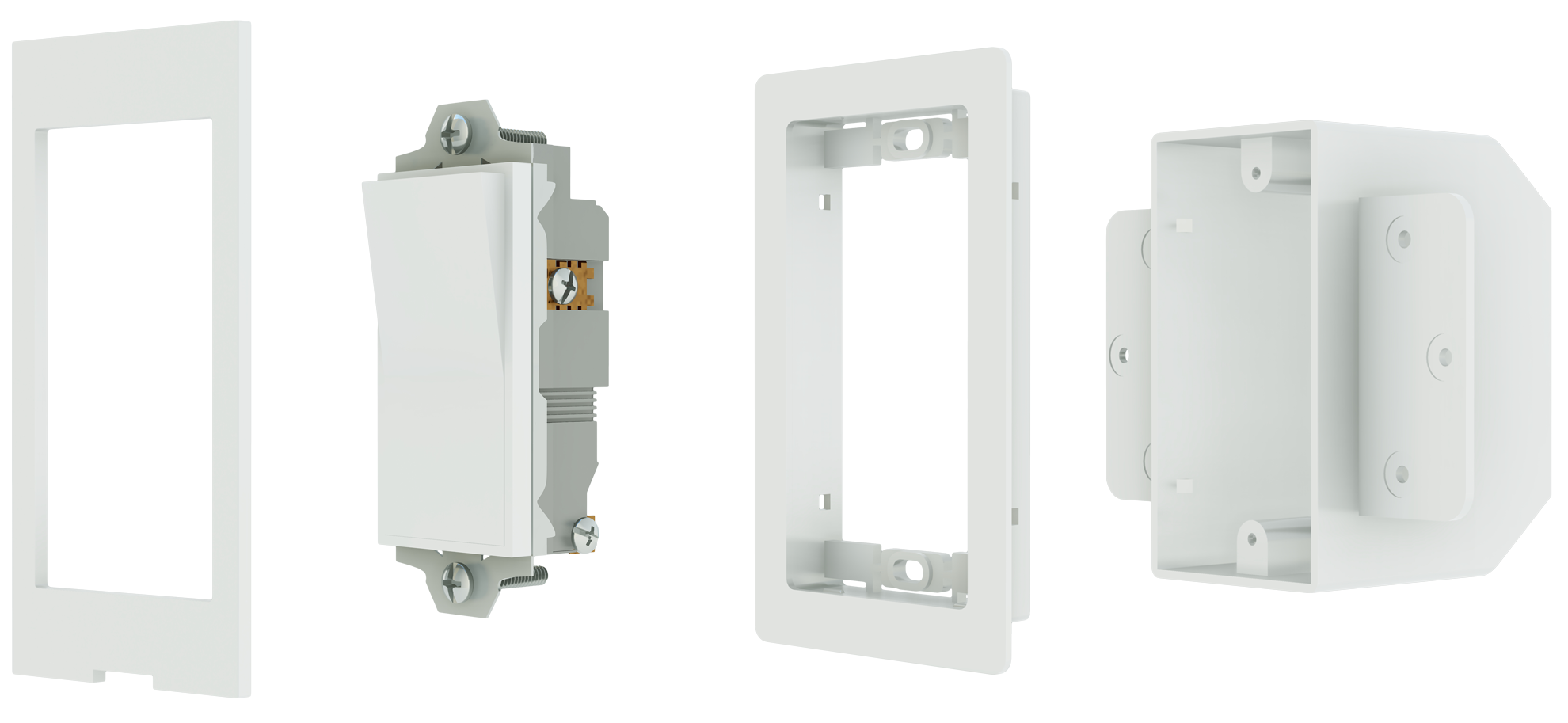 Flush Mount Light Switch